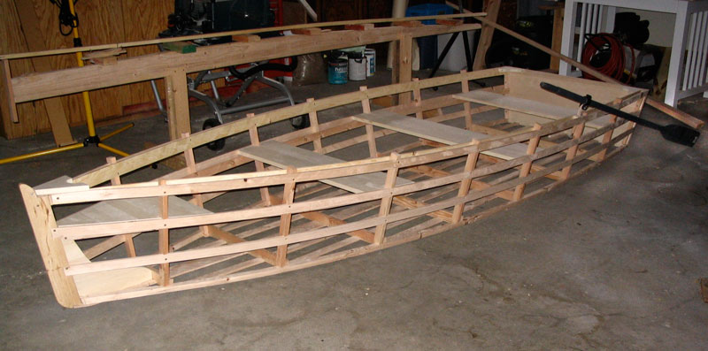 how to build a wooden rowing boat